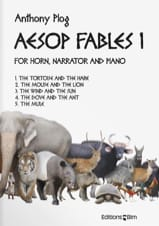 Aesop Fables I Anthony Plog Partition Cor - laflutedepan.com