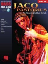 Jaco Pastorius - Bass Play-Along Volume 50 - Jaco Pastorius - Sheet Music - di-arezzo.co.uk