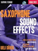 Saxophone Sound Effects Ueli Dörig Partition laflutedepan.com