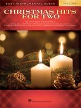 Christmas Hits for Two Violins Noël Partition Violon - laflutedepan