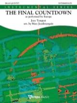 The Final Countdown - Pour Quintette de Cuivres laflutedepan