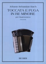 Toccata e Fuga in re minore BWV 565 BACH Partition laflutedepan.com