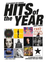 Hits Of The Year 2016 - Easy Piano Partition laflutedepan.com
