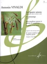 Les quatre saisons - Le Printemps (Opus 8 n°1) - laflutedepan.com