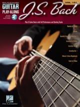 Johann Sebastian Bach - Guitar Play-Along Volume 151 J.S. Bach - Partition - di-arezzo.fr