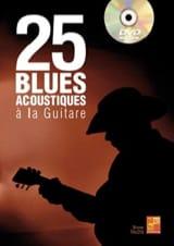 25 Blues Acoustiques à la guitare Bruno Tauzin laflutedepan.com