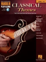 Mandolin Play-Along Volume 11 - Classical Themes - laflutedepan.com