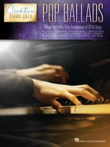Creative Piano Solo - Pop Ballads Partition laflutedepan.com