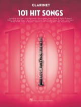 101 Hit Songs for Clarinet Partition Clarinette - laflutedepan.com