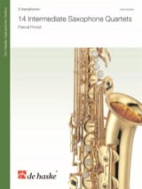 14 Intermediate Saxophone Quartets Pascal Proust laflutedepan.com