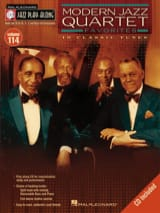 Jazz Play-Along Volume 114 - Modern Jazz Quartet Favorites laflutedepan.com