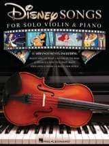 Disney Songs for Solo Violin & Piano - DISNEY - laflutedepan.com