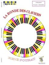 La Ronde des Claviers René Potrat Partition laflutedepan.com