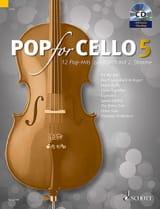 Pop For Cello - Volume 5 Partition Violoncelle - laflutedepan.com