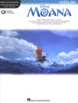 Vaiana - Musique du Film DISNEY Partition Violon - laflutedepan.com