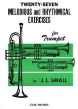 27 Melodious and Rhythmical Exercises J.L. Small laflutedepan.com