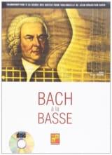 Bach à la Basse Bruno Tauzin Partition Contrebasse - laflutedepan