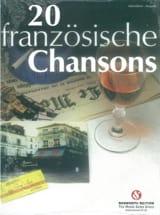 20 Chansons Françaises pour accordéon Partition laflutedepan.com