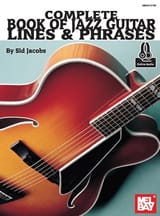 Complete Book Of Jazz Guitar Lines & Phrases Sid Jacobs laflutedepan