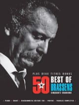 Georges Brassens - 50 Best Of - Brassens - Partition - di-arezzo.fr