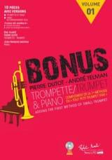 Pierre Dutot & André Telman - Bonus 1 - Complément de la Méthode le Tout Petit Trumpet Star - Partition - di-arezzo.fr