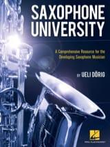 Saxophone University - Ueli Dörig - Partition - laflutedepan.com