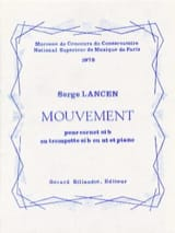 Serge Lancen - Movement - Sheet Music - di-arezzo.co.uk