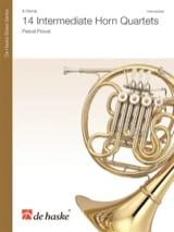 14 Intermediate Horn Quartets - Pascal Proust - laflutedepan.com