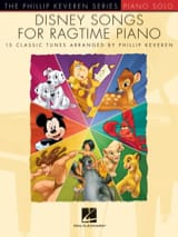 Disney Songs for Ragtime Piano DISNEY Partition Jazz - laflutedepan