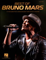 Bruno Mars - Best of Bruno Mars - Easy Piano - Sheet Music - di-arezzo.co.uk