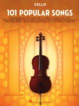 101 Popular Songs - Partition - Violoncelle - laflutedepan.com