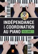 Indépendance & coordination au piano - Volume 1 laflutedepan.com