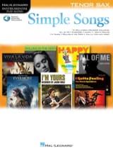 Simple Songs Partition Saxophone - laflutedepan.com