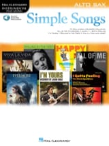 Simple Songs Partition Saxophone - laflutedepan.com