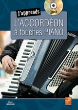 J'apprends l'accordéon à touches piano Manu Maugain laflutedepan.com