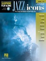 Saxophone Play-Along Volume 11 - Jazz Icon - laflutedepan.com