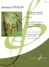 VIVALDI - The 4 seasons: Winter - Sheet Music - di-arezzo.co.uk
