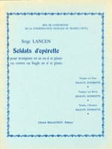 Serge Lancen - Operetta Soldiers - Sheet Music - di-arezzo.co.uk
