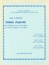 Soldats D' Opérette Serge Lancen Partition laflutedepan.com