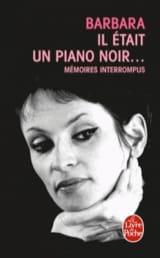 Il était un piano noir... Barbara Livre Les Hommes - laflutedepan.com