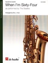 When I'm Sixty-Four - Quatuor de Saxophones laflutedepan.com