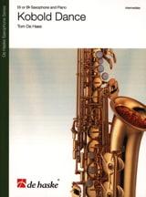 Kobold Dance Tom De Haes Partition Saxophone - laflutedepan.com