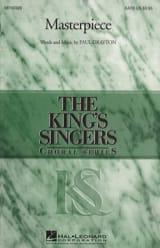 Masterpiece King's Singers The Partition Chœur - laflutedepan.com