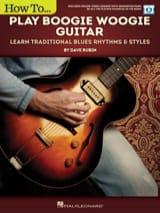 Dave Rubin - Cómo jugar Boogie Woogie Guitar - Partitura - di-arezzo.es