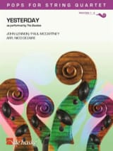 The Beatles - Yesterday - Pops for String Quartet - Sheet Music - di-arezzo.com
