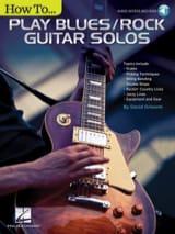 How to Play Blues/Rock Guitar Solos Partition laflutedepan.com