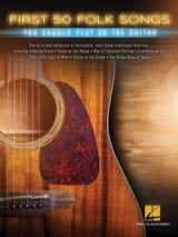Traditionnel - First 50 Folk Songs You Should Play On Guitar - Sheet Music - di-arezzo.co.uk