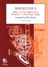 The Beatles - Beatles for 5 - Quintette de Cuivres - Partition - di-arezzo.fr