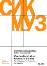 Orchesterstudien für Schlagzeug Dimitri Shostakovich laflutedepan.com