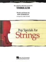 Michael Jackson - Thriller - Pop Specials for Strings - Sheet Music - di-arezzo.co.uk